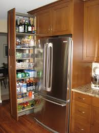 gap between fridge and cabinets pantry cabinet pull out system fridge gap slide tall ikea singular