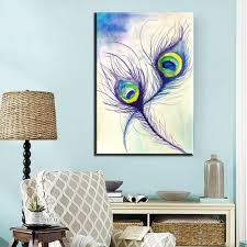Peacock Feather Home Decor Compare Prices On Pictures Peacock Feathers Online Shopping Buy