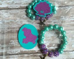 party favor bracelets set of 6 diy mermaid party favor bracelets party craft ariel