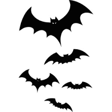 scary halloween clipart black and bats and butterflies polyvore