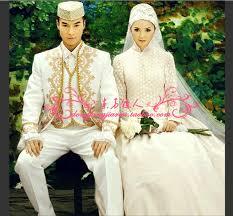 muslim and groom aliexpress buy isram muslim wedding clothing white free