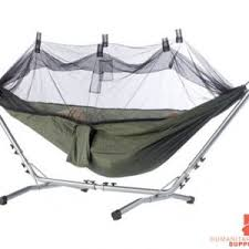 raised tent with cot sleeping bag and mattress humanitarian