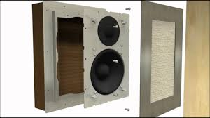 home theater in ceiling speakers flush mount in wall speakers for brick concrete walls youtube