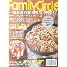Time Inc Magazine Magazine Family Circle  Walmartcom