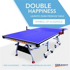 What Is The Size Of A Ping Pong Table by Happiness Levante 25mm Size Table Tennis Ping Pong Table