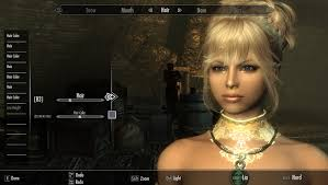 skyrim hair changer steam community guide how to create cute character on skyrim