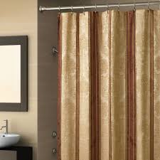 burgundy and gold shower curtain home decorating interior