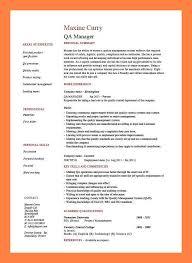 quality control resume 6 quality assurance resume memo header