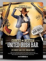 20 creative western flyer templates u0026 psd designs free