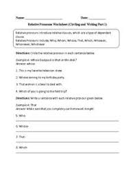 relative pronouns part ii explanations and exercises for whose