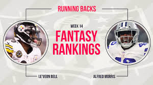 What Are The Super Bowl Predictions From 14 Animals Across The - week 14 fantasy rankings running back fantasy sporting news