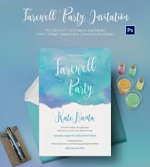 Retirement Invitation Wording Farewell Party Invitation Template 25 Free Psd Format Download