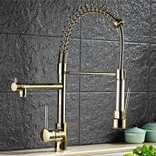 kitchen faucet outlet aliexpress com buy plating titanium gold pull out kitchen faucet