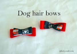 hair bows for dog hair bow tutorial teodoro