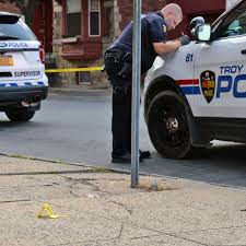 halloween city troy ny troy police report man shot in face times union