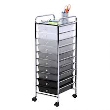 Skinny Storage Drawers Storage Fascinating Rolling Drawer Cart Trolley Storage Frosted