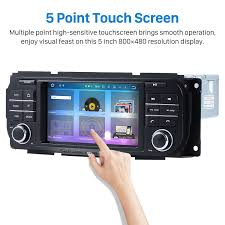 6 0 touchscreen radio gps stereo for 2002 2007 jeep liberty with