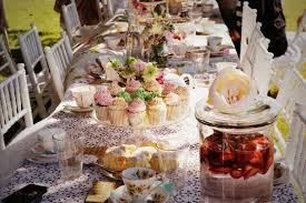 allure bridal stylists bridal shower high tea