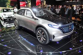 mercedes benz will reveal all electric eq a hatch concept in