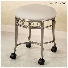 bathroom bathroom vanity stools with wheels on bathroom intended