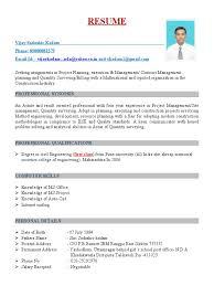 dddddfdresume vijay kadam employment science and technology