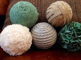 dining room make decorative balls on the cheap dollar store crafts