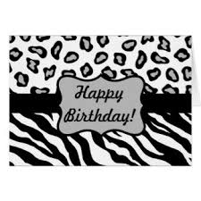 cheetah birthday greeting cards zazzle