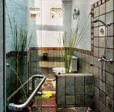 desain kamar mandi pedesaan inspirasi gambar kamar mandi bernuansa alam desain denah rumah