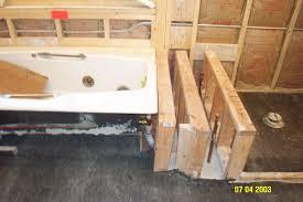 Whirlpool Bathtub Installation Enchanting Drop In Bathtub Framing 63 Drop In Whirlpool Tub