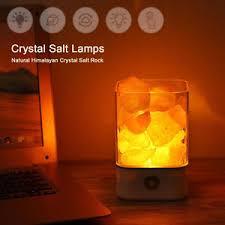 ebay himalayan salt l himalayan salt l natural crystal rock shape color changing switch