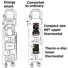 how to convert energy smart water heater to ordinary water heater