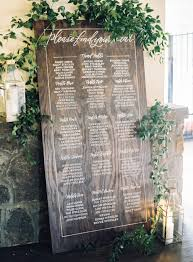 wedding table assignment board blog boarding collective