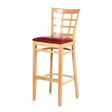 Unfinished Bistro Table Bar Stools Mesmerizing Unfinished Oak Bar Stools Upholstered