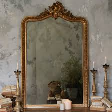 One Of A Kind Home Decor Eloquence One Of A Kind Antique Mirror Rocaille Ornate Gilt