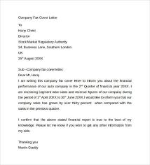 fax cover letter sample fax cover letter examples printable