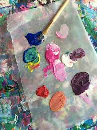 mini monets and mommies let u0027s start color mixing kids u0027 art activity