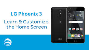 The Home Technology Store Learn U0026 Customize The Home Screen On Your Lg Phoenix 3 At U0026t