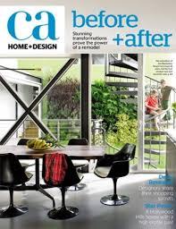california home design magazine californian style and design