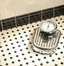 black u0026 white octagon floor design using topcer tessellated tiles