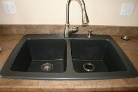 home depot black sink granite quartz composite kitchen sinks the home depot with black