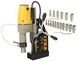 dragon tools md40 magnetic drill press with hss annular cutters