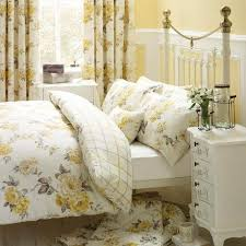 Dunelm Mill Duvet Covers Windermere Lemon Bed Linen Collection Dunelm