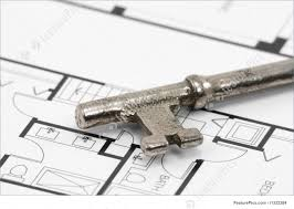 Building Blue Prints by Key And Building Blueprint Stock Image I1322264 At Featurepics