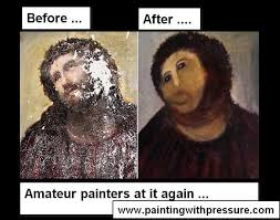 Ecce Homo Meme - list of synonyms and antonyms of the word jesus painting meme
