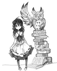 victorian and owl by jump button on deviantart