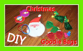 goodie bag ideas diy christmas goodie bag ideas