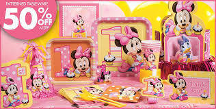minnie mouse first birthday decor image inspiration of cake and