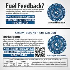 Vehicle Bill Of Sale Texas Template by With New Pump Stickers Miller Boosts Profile Dings Lawmakers