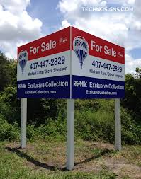 commercial real estate signs from design to