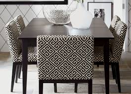 using this table yellow upholstered parsons chairs and gray